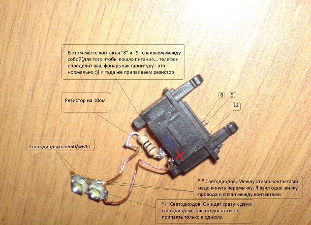 Как сделать на телефон фонарик