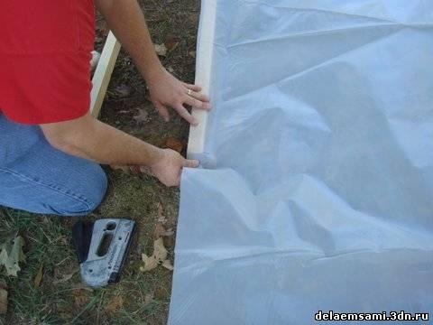 Как клеить пленку пвх на фасад своими руками