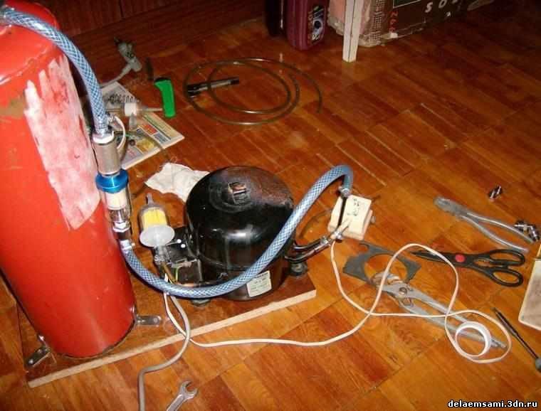 Как сделать бытовой компрессор 281